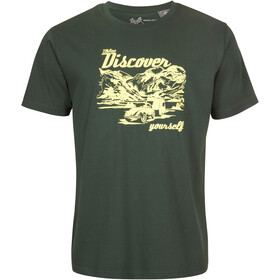 Elkline Discover T-shirt Herrer, trekking green/vw